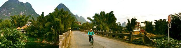 Biking to the crag