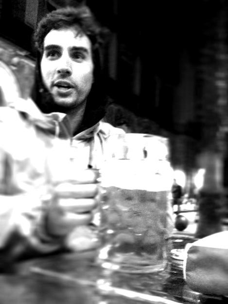 Big beer in Barcelona