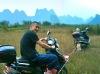 Yuji and his broken moped