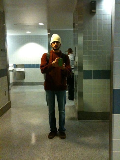 Denver Airport self portrait