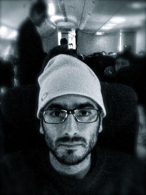 Self portrait in flight